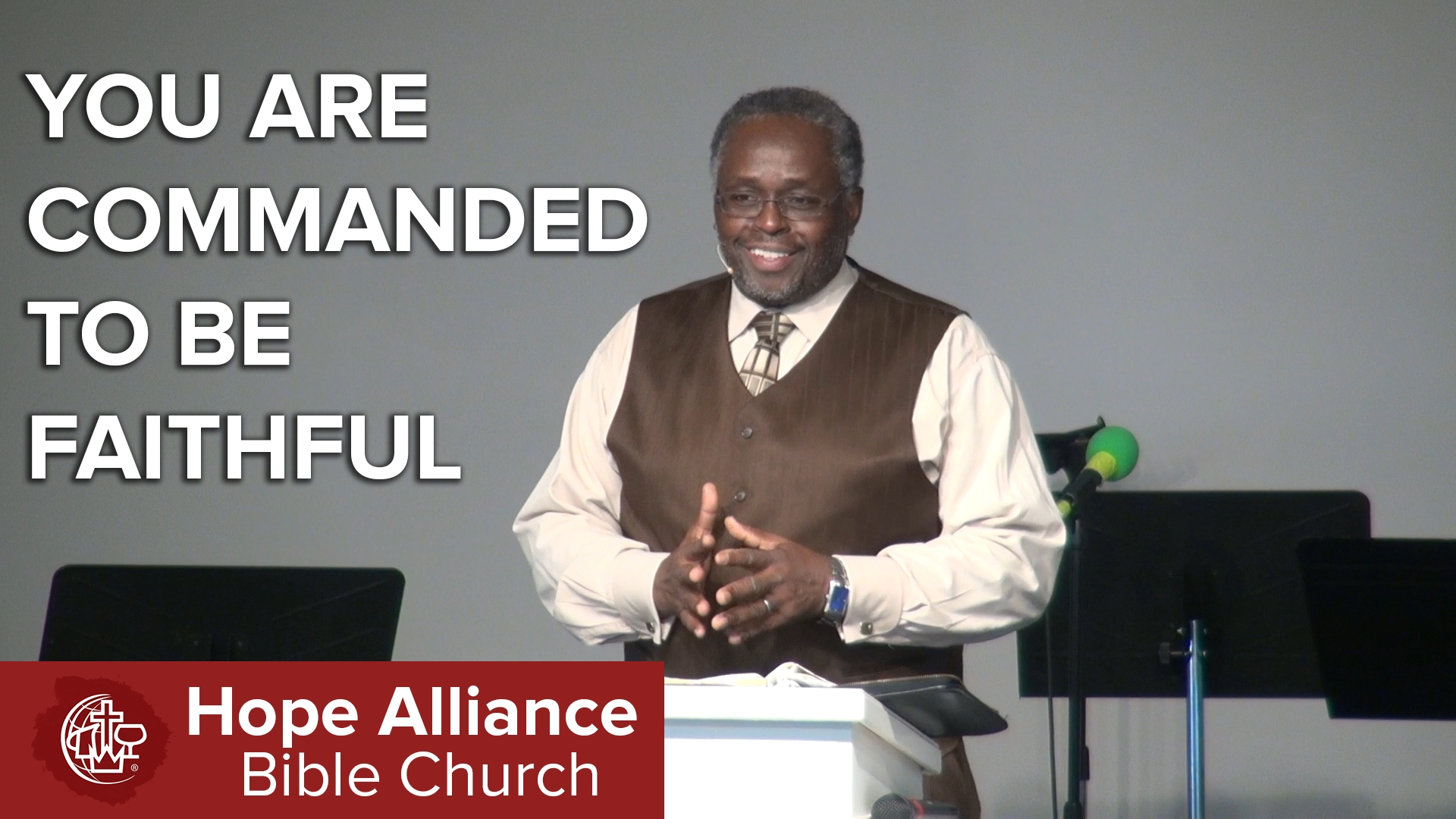 Hope Alliance Bible Church » Thou Shall Not Commit Adultery: You Are